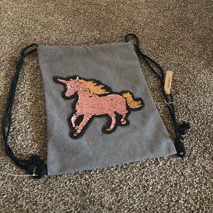 Handbags - Unicorn design cinch bag
